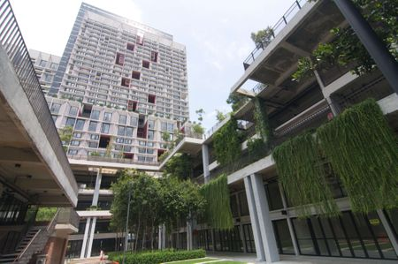 Exterior building of Tamarind Suites located in Cyberjaya where you can enjoy homestay or vacation rental with IdealHub